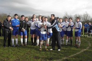 Gallant Senior boys just miss out on Ulster title